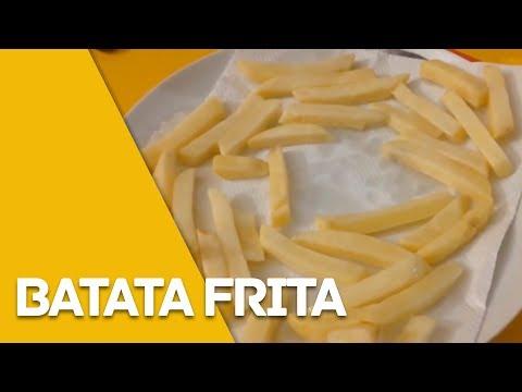 Como fazer batata frita no micro ondas
