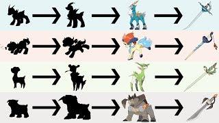 Swords of Justice Evolutions & Sword Form | Pokemon Gen 8 Fanart