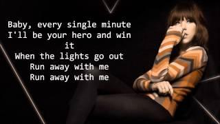 Run Away With Me - Carly Rae Jepsen (Lyric Video)