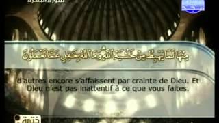 القرآن الكريم - ختمة الأجزاء- ختمة منوعة مع الترجمة الفرنسية