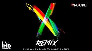 X Remix - Nicky Jam x J Balvin x Ozuna x Maluma