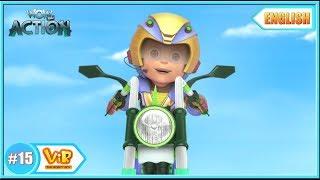 Vir The Robot Boy | The Mad Bike |  English episodes for Kids | WowKidz Action