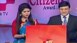 OTV Odia Odisha Citizens Award 2016 in Bhubaneswar.