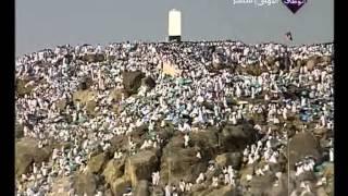 بث مباشر لحجاج بيت الله الحرام يقفون على صعيد عرفة
