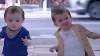 Funny Video Magic Mirror Make You As A Baby Kids