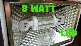 Ebay J78 8 Watt security flood light bulb.  Is it any good ?
