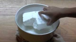 Acetone and Styrofoam