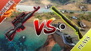 ART OF ARK - LONGNECK RIFLE VS FABRICATED SNIPER RIFLE!