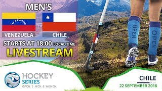Venezuela v Chile | 2018 Men's Hockey Series Open | FULL MATCH LIVESTREAM