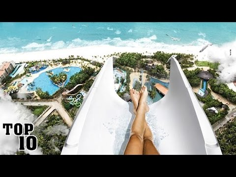 watch Top 10 Scariest Water Slides In The World
