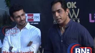 Prabhudeva  HOT Bollywood celebs at the Red Carpet Of Life OK Now Awards 2014
