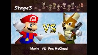 Nintendo 64 Longplay [012] Super Smash Bros.
