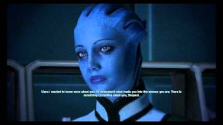 Mass Effect - Liara Female Romance (Complete Scenes and Dialogues)