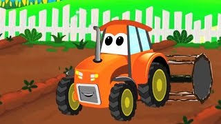 car wash | kids cartoon car compilation | tractor