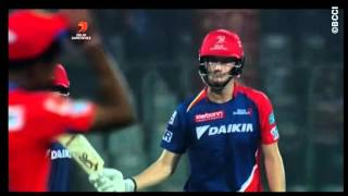 Chris Morris fastest fifty in this IPL 9    17 balls fifty    scored 82 off 32 ball vs Gujarat Lions