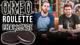 OREO ROULETTE CHALLENGE!! - Max and Barney Play Food Roulette