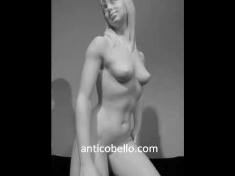 Hot Sexy Voluptuous Exotic Nude Greek Goddess Female Woman Figure Posing her Diamond Assets