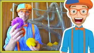 1 Hour Compilation with Blippi | Playing at the Children