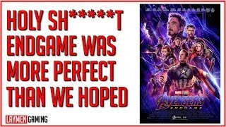 You WILL Cry Nerd-Tears-Of-Joy During Avengers Endgame (Review)