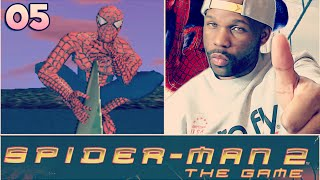 SPIDER MAN 2 THE GAME WALKTHROUGH PART 5 - DAMN NEAR RAGE QUIT