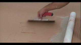 ISOMAT: Εφαρμογή πατητής τσιμεντοκονίας σε δάπεδο