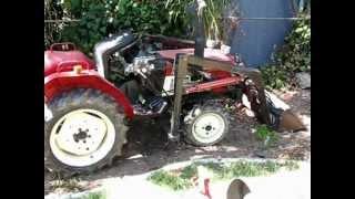 Yanmar Tractor Hydraulic Transmission Fluid Change Model YM1601D or YM 1601D