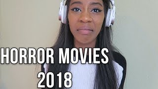 REACTING TO HORROR MOVIE TRAILERS 4