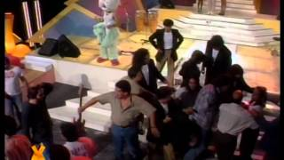 Vale Valeria con el grupo Tinta Roja, Parte 2 - Videomatch 97