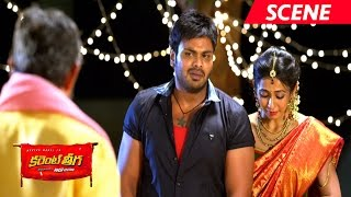 Manchu Manoj Best Emotional Dialogues Scene - Current Theega Movie Scenes