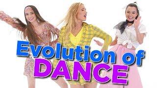 Evolution of Dance Challenge with Montana Tucker - Merrell Twins
