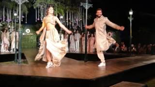 Ranveer Singh & Vaani Kapoor's dance party at Diva'ni show!