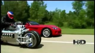 Dodge Viper Vs A Moto Dodge Tomahawk