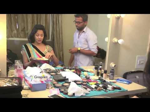 Anasuya  At Makeup Room