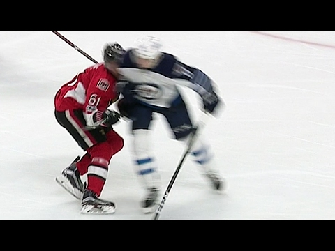 Boucher furious after Trouba receives 2 minutes for hit on Stone