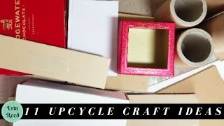 11 Objects to Keep to Upcycle for Crafts Projects - Trash to Art