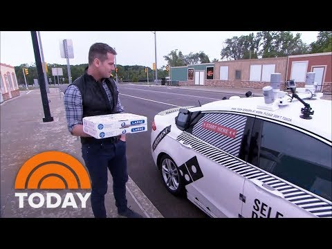 Xxx Mp4 Domino's Pizza Hopes To Roll Out Self Driving Delivery TODAY 3gp Sex