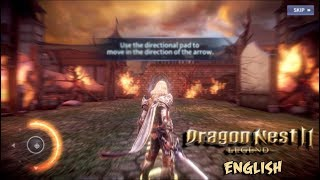 Dragon Nest 2 Legends (ENGLISH) - Geraint Gameplay Android/iOS Game (NEXON)