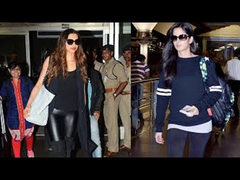 Xxx Mp4 Deepika Padukone Katrina Kaif Wore The Exact Same Thing At The Airport 3gp Sex
