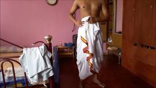 How to Wear Hare Krishna Dhoti | Gaudiya Vaishnava | Vaishnava