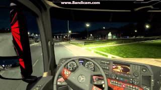 Euro Truck Simulator 2 1.18 Update Mercedes Actros (MP4) Truck [HD]