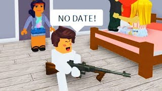 BREAKING UP ONLINE DATERS WITH ADMIN COMMANDS AS A BABY IN ROBLOX!