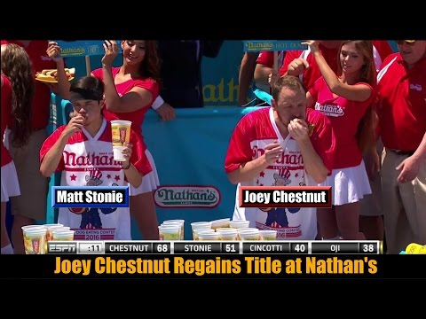 Xxx Mp4 2016 Nathan S Hot Dog Eating Contest Joey Chestnut REGAINS Title 3gp Sex