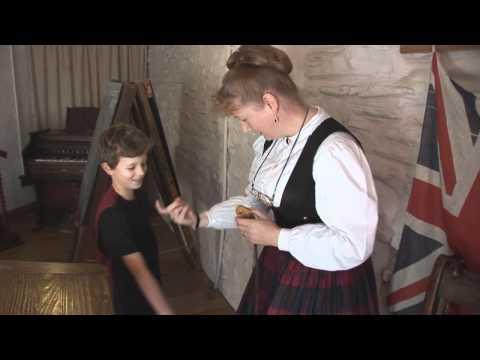Finger Stocks (aka Finger Cuffs) - Victorian school punishment - Dean Heritage Centre