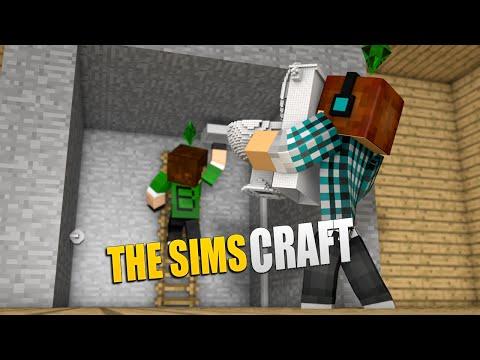 The Sims Craft Ep.70 - Construindo Uma Casa Com Banheiro !!