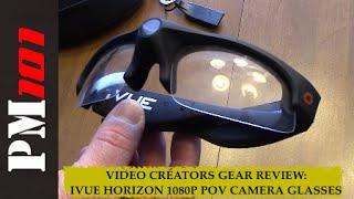 Video Creators Gear Review: Ivue Horizon 1080P POV Camera Glasses  - Preparedmind101