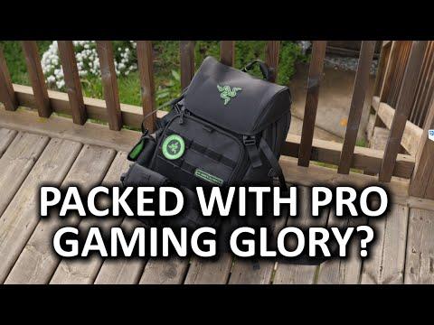 Razer Tactical Bag Intense Gamer Gear or Sensible Backpack
