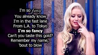Iggy Azalea - Fancy (Lyrics) ft. [Charli XCX] Official Audio