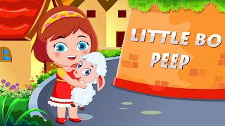 Little Bo Peep Song | Nursery Rhymes for Childrens | Lost Her Sheep