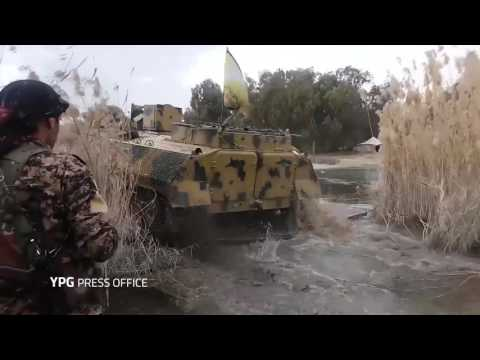 YPG released footage of the US backed airliftcross from last...