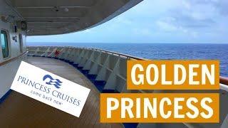 Sea day #1: Golden Princess, Asia Cruise VLOG 3 (2018)